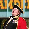 Camden Town: town crier in full flight.