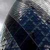 30 St Mary Axe (the Gherkin).