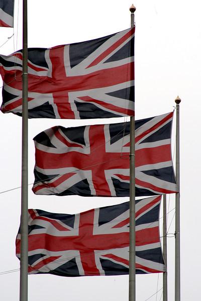 Flags @ Trafalgar Square.
