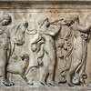 British Museum: frieze of a Maenad and Bacchanalian celebrants.