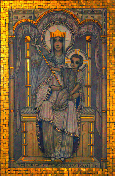 Westminster Cathedral: Our Lady of Walsingham.