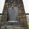 Robert the Bruce Marker at the Battle of Bannockburn site