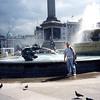 Me at Trafalgar Square 22 June 98 about 7PM