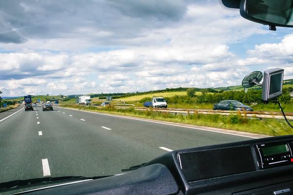 Leicester to Scotland
