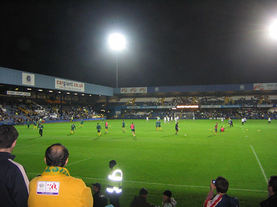 Australia v Ghana - QPR London November 2006