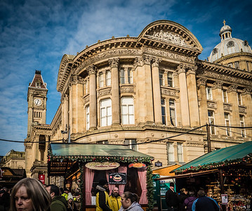 Birmingham, November 2017 - a walkabout & a market