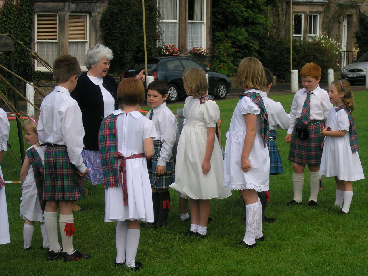Scottish Dancers...in England