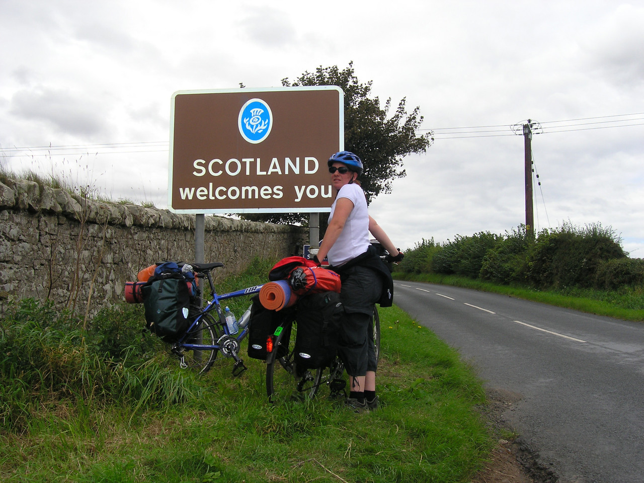 Crossing the Scottish Border