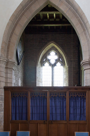 The rear of the sanctuary.