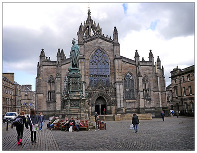 Edinburgh, St Giles Cathedral, May 2012