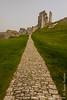 Corfe Castle - Outer Bailey