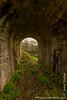 Corfe Castle - Beneath Main Bridge