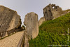 Corfe Castle - South-West Gatehouse and Keep