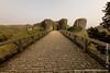 Corfe Castle - Main Bridge and Outer Bailey Gatehouse