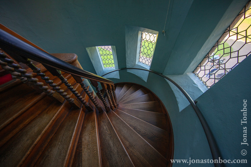 Warwick Castle - Staircase