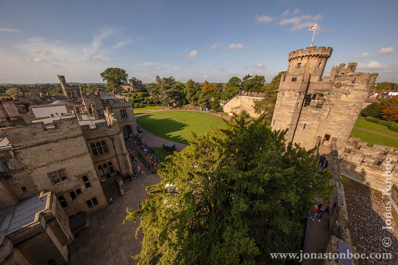 Warwick Castle - View From Caesar's Tower