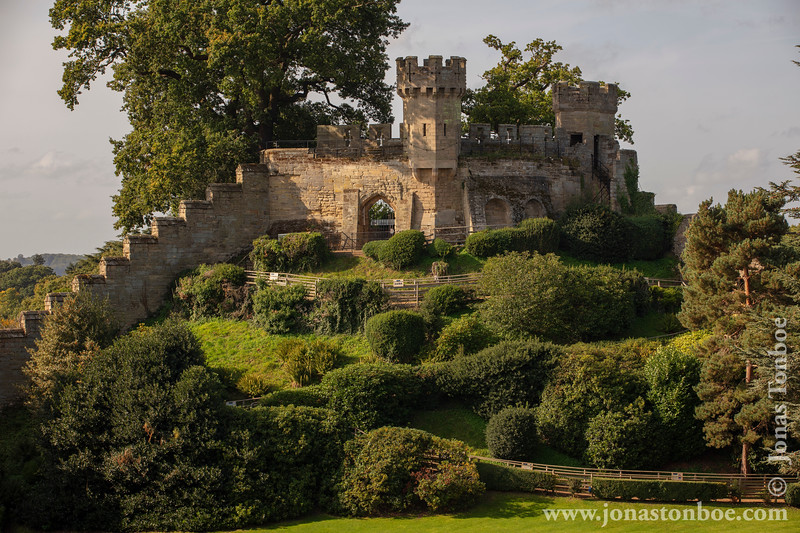 Warwick Castle - Ethelfleda's Mound