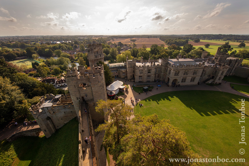 Warwick Castle - View From Guy's Tower