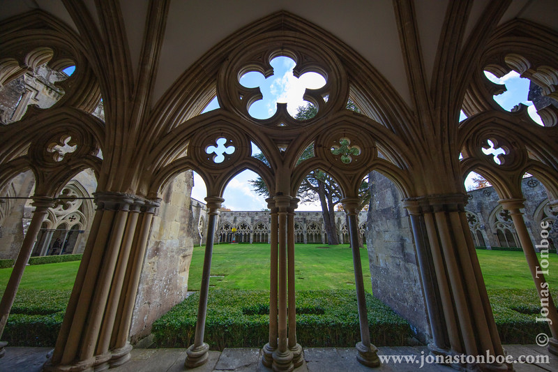 Salisbury Cathedral - Cloisters