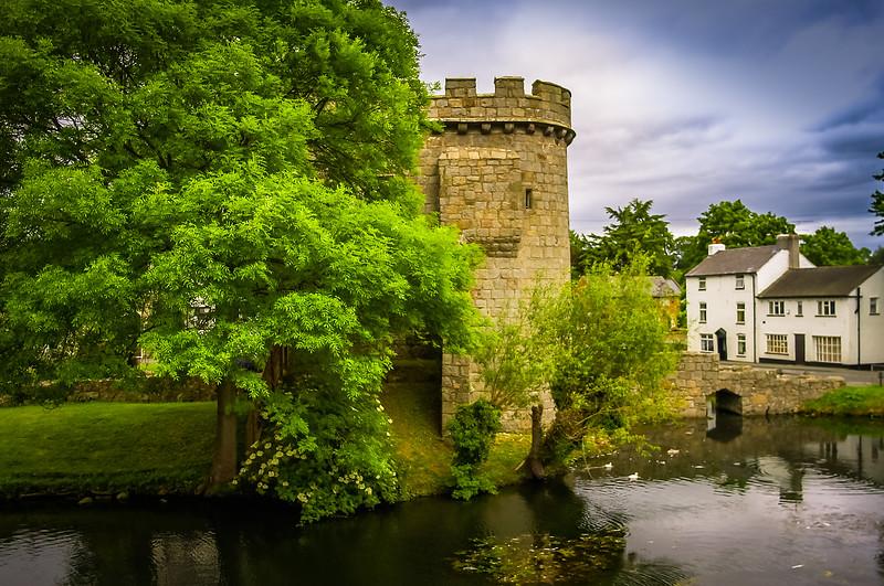 Whittington Castle, England