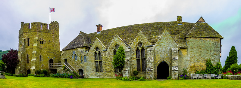 Stokesay, Shropshire, England