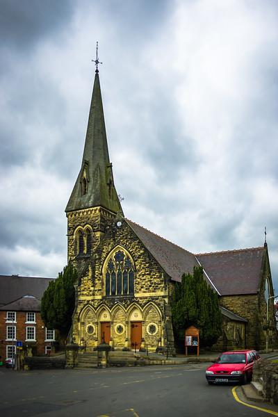 Christ Church, Oswestry, England