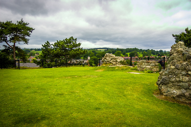 Oswestry Castle, England
