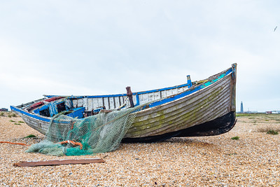 The old fishing boat.