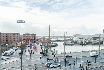 December 2018 - View over Albert Dock from Hilton