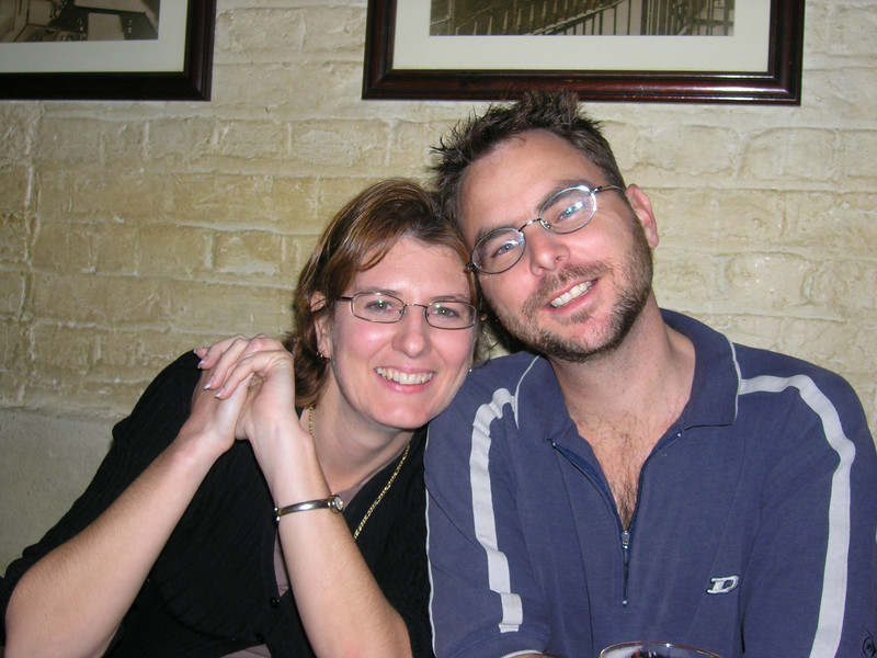 Jamie and Jenny in the Olde Cheshire Cheese