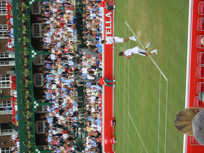Ivanisevic and Ancic at Queen's Club