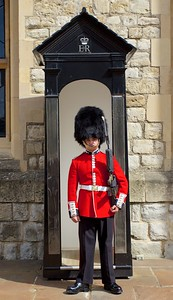 Royal Guard at The Tower of London