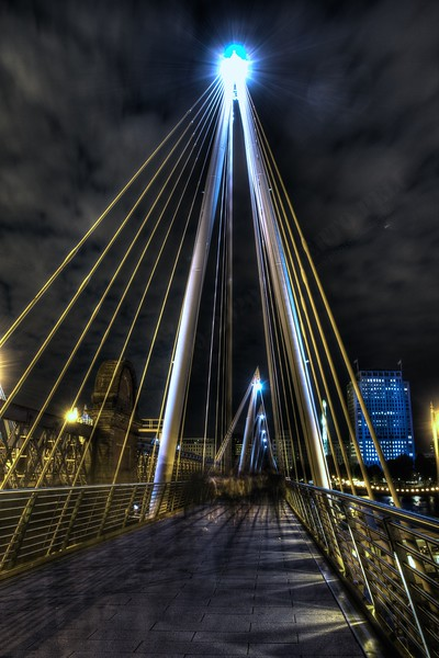 Golden Jubilee Bridges Hdr