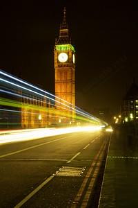 Bus on Westminster Bridge Rd