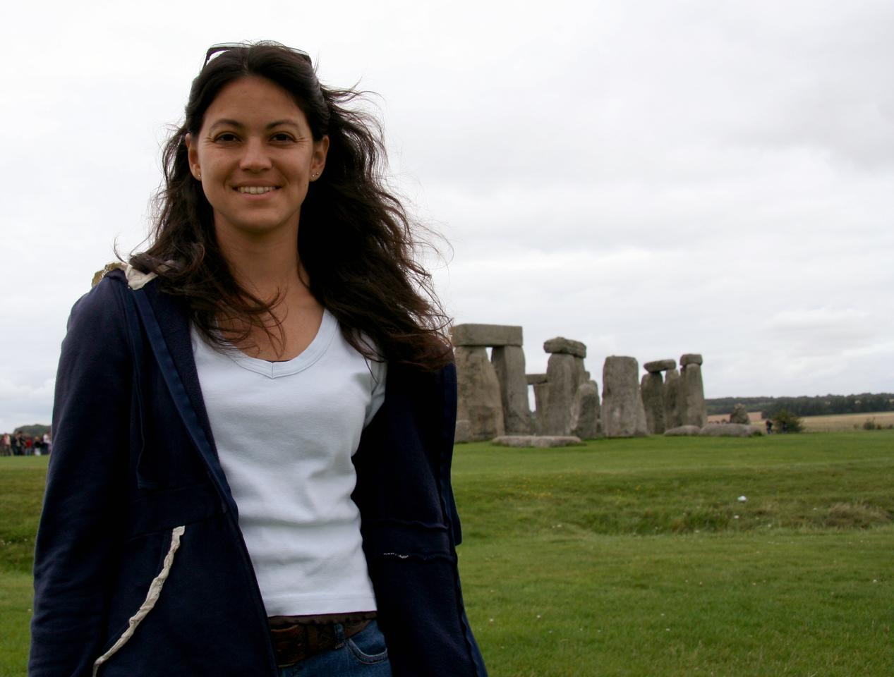 Me at Stonehenge.