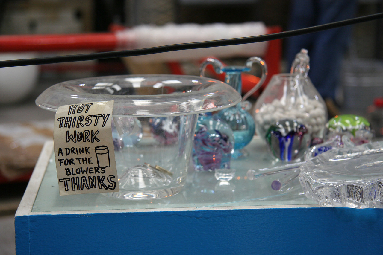 Tips for the glass blowers.