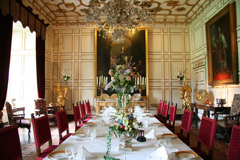 Dining room attached to the Great Hall.