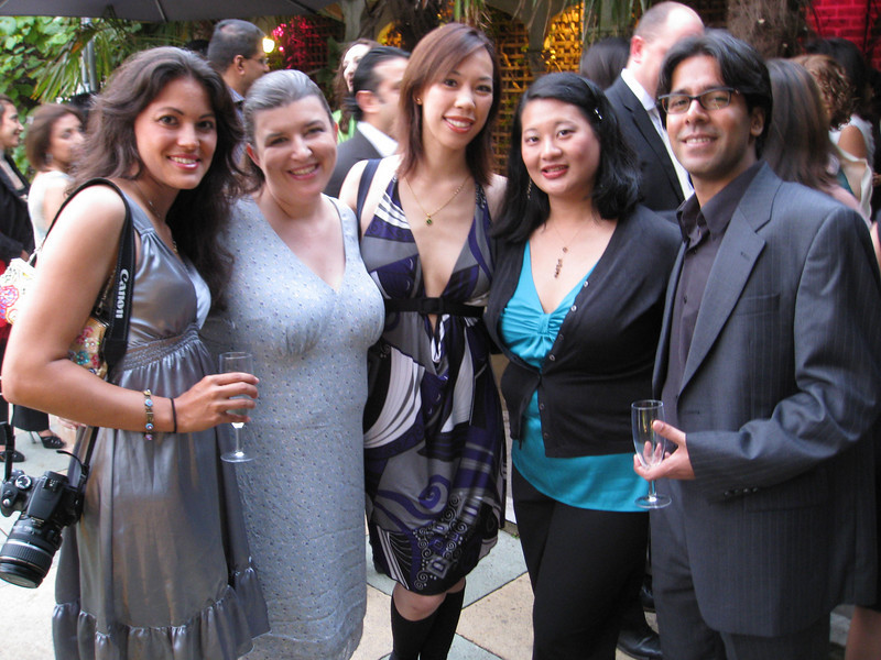 L to R: Jess, Judy, AJ, Nancy, Daanish