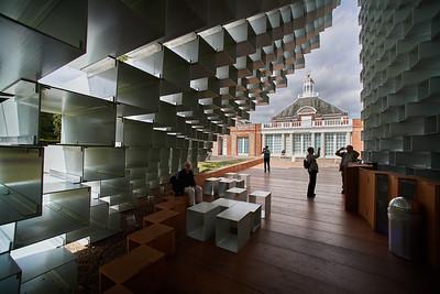 Serpentine Pavilion 2016 - designed by Bjarke Ingels Group ( BIG ) | Kensington Gardens