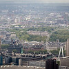 View on London Eye from Shard