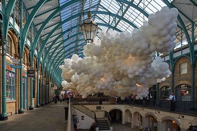 """Heartbeat"" by Charles Pétillon | Covent Garden | 2015"