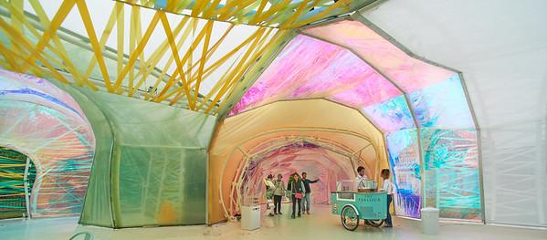 Serpentine Pavilion 2015 - designed by selgascano ( José Selgas and Lucía Cano )
