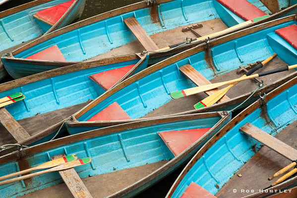 Boat Rentals at Oxford, UK © Rob Huntley