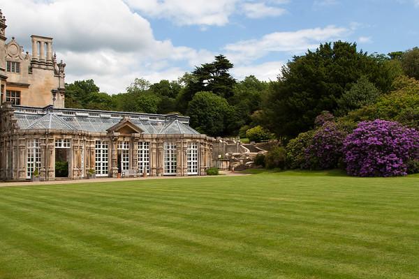 The conservatory; original to the estate.
