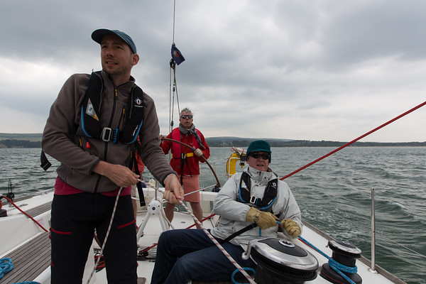 Sailing Solent June 2018