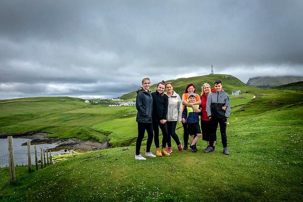 At Duntulm Castle, Isle of Skye