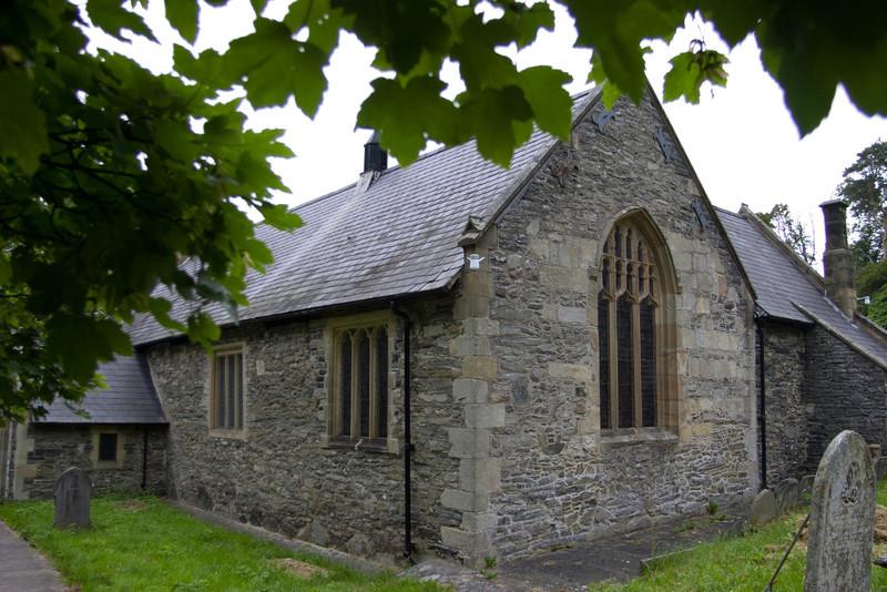 Llantysilio Church, Llangollen, Wales