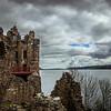 Loch Ness, Scotland<br /> Urquhart Castle, Scotland