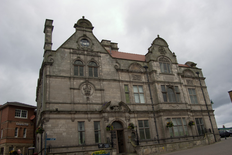 Oswestry Town Council Building, England