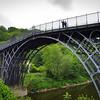 The Iron Bridge [1775-1779], near Coalbrookdale, Shropshire, England
